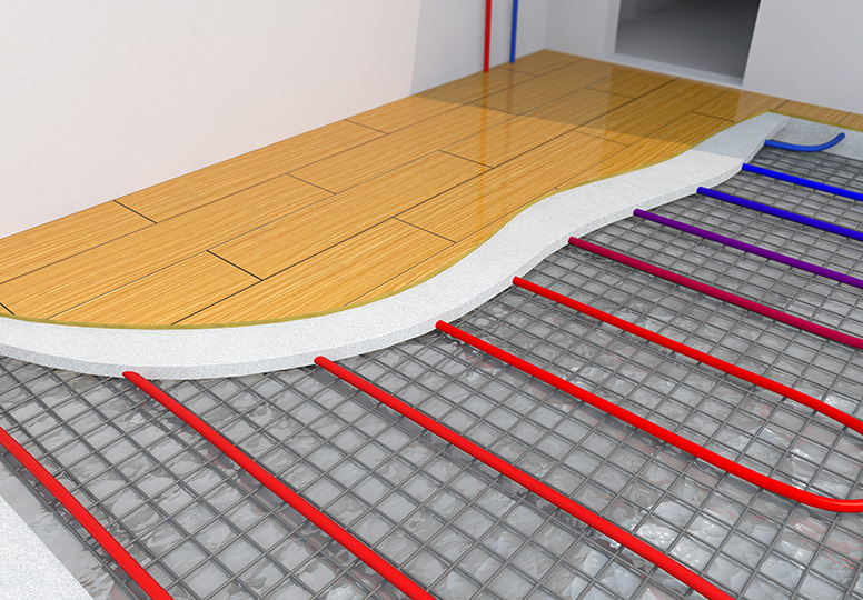 radiant flooring rendering - What is Radiant Heating?