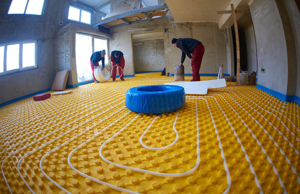shutterstock 273668606 1024x664 - Garage Radiant Floor Heating — Everything You Need to Know