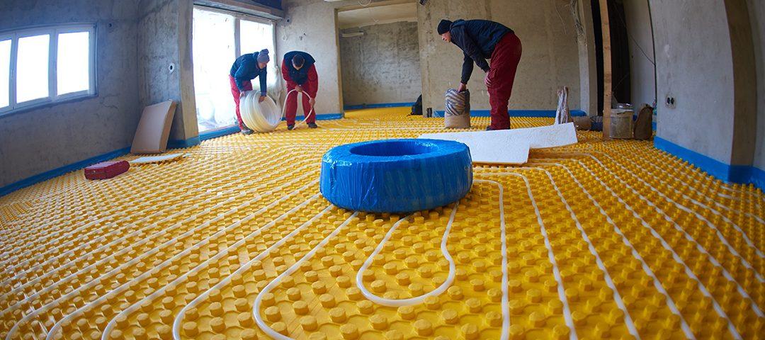 Garage Radiant Floor Heating